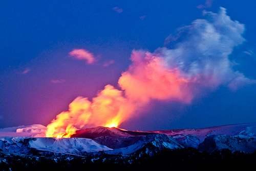أرض الجليد والنار…وشواهد القدرة الإلهية