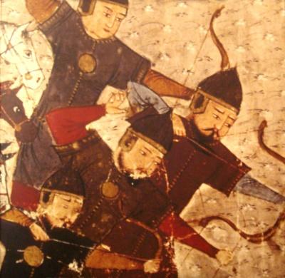 قتال المسلمين للترك