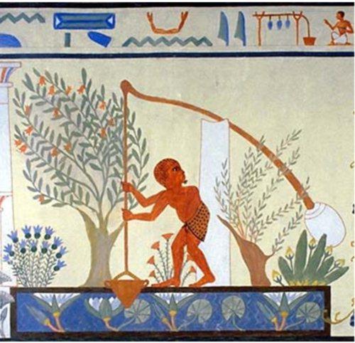جنات وعيون مصر القديمة