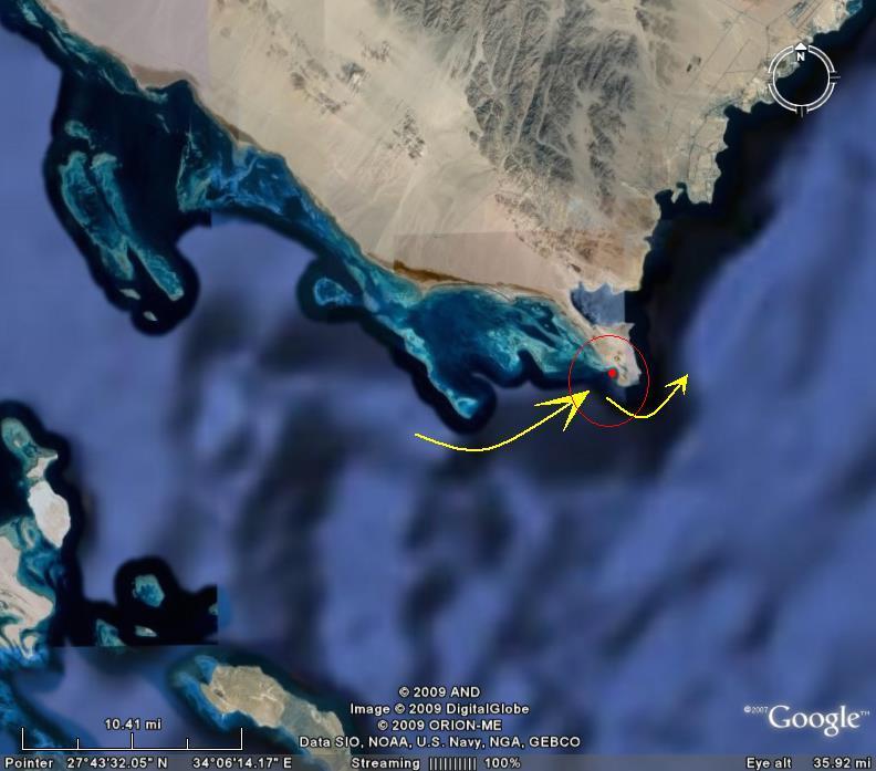 الأقمار الصناعية تكشف عن مجمع البحرين المذكور بالقرآن بسيناء 5454.jpg