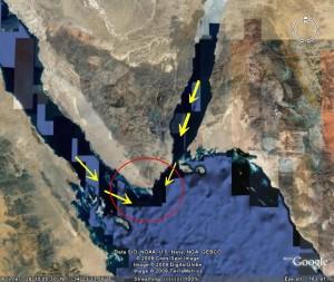 الأقمار الصناعية تكشف مجمع البحرين