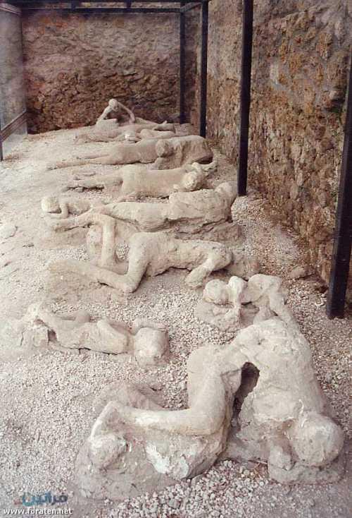 Pompeii Ruins Bodies