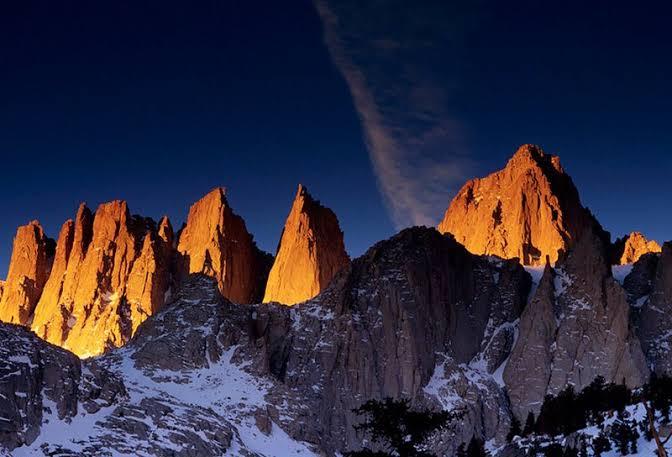 الخشوع والتصدع في الجبال